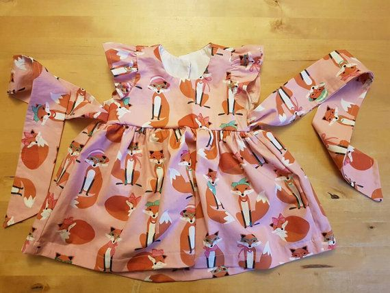 Check out this item in my Etsy shop https://www.etsy.com/uk/listing/492836610/dress-fabulous-foxes-birthday-fancy-baby