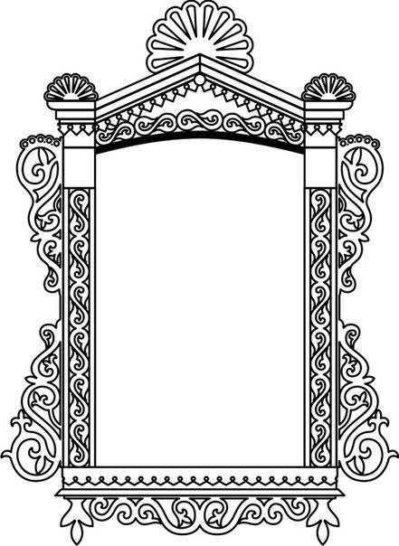 ornate frame