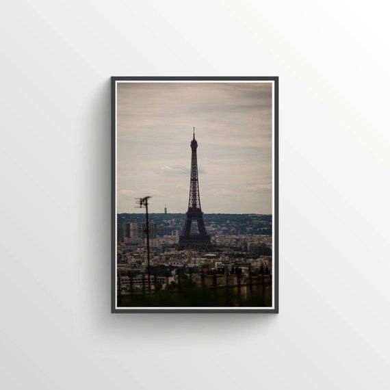 Dreamy Eiffel Tower, Paris France, Fine Art Print, Parisian Photography, Home Decor, Wall Art