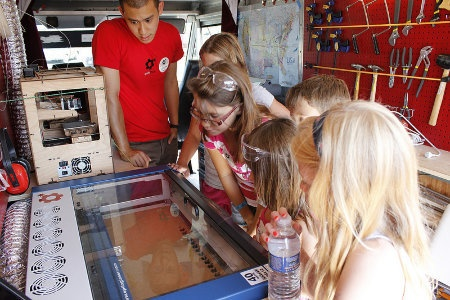 Thinkering: Mobile Maker Lab Hits the Road To Find High Demand - Education - GOOD