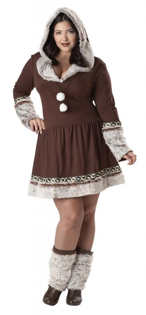 Eskimo Kisses Plus Size Costume