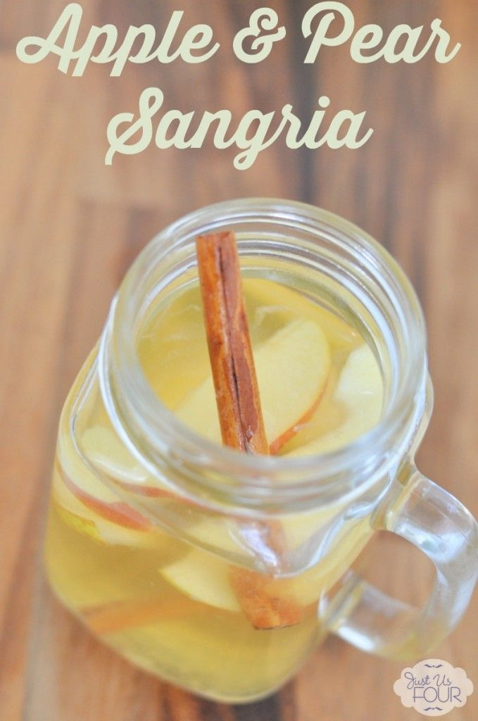 Sangria isn't only for summer! This fall sangria is the perfect drink for the cooler fall temperatures.