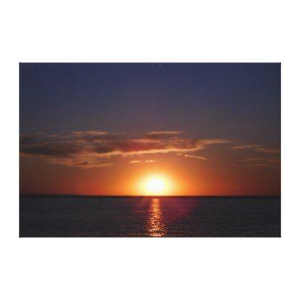 Surreal Summer Sunset Canvas Print  $173.00  by WestCreek  - custom gift idea