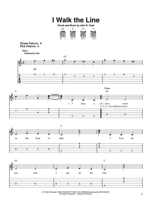 i walk the line in 2019 country music favorites guitar sheet music piano sheet music. Black Bedroom Furniture Sets. Home Design Ideas