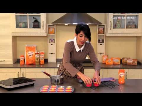 1ª Video Receta con Alma: Cupcakes Vainilla y Rosas