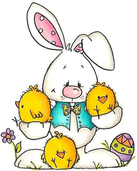 rabbit from whippersnapper designs | Classroom clipart ... Easter Clip Art Free Cute