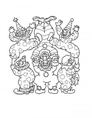 Circus coloring page 48