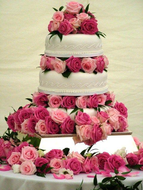 tartas y rosas: dos elementos imprescindibles en una #boda