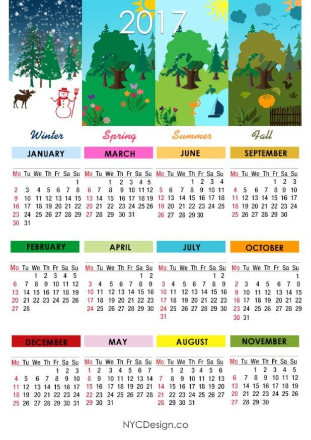 seasonal calendar templates juve cenitdelacabrera co