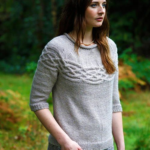 The Big Comfy Sweater is the perfect pattern if you're looking for an easy-going knit wearable. The laid back style is great for layering or for popping on with pants, leggings, or jeans. You'll love the smooth texture against your skin and easy wash ability. Plus, this is an easy knitting pattern, so you won't need to devote hours and hours to this project. The neutral gray color will work well with any item currently in your wardrobe. Plus, this piece can transition between seas...