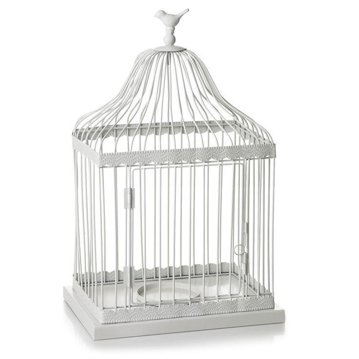 Grote Afbeelding Van Wilko Decoratieve Vogelkooi Wit Groot Opent In Een Nieuw Venster Vogelkooi Decoratie Venster Decoratie Vogelkooi