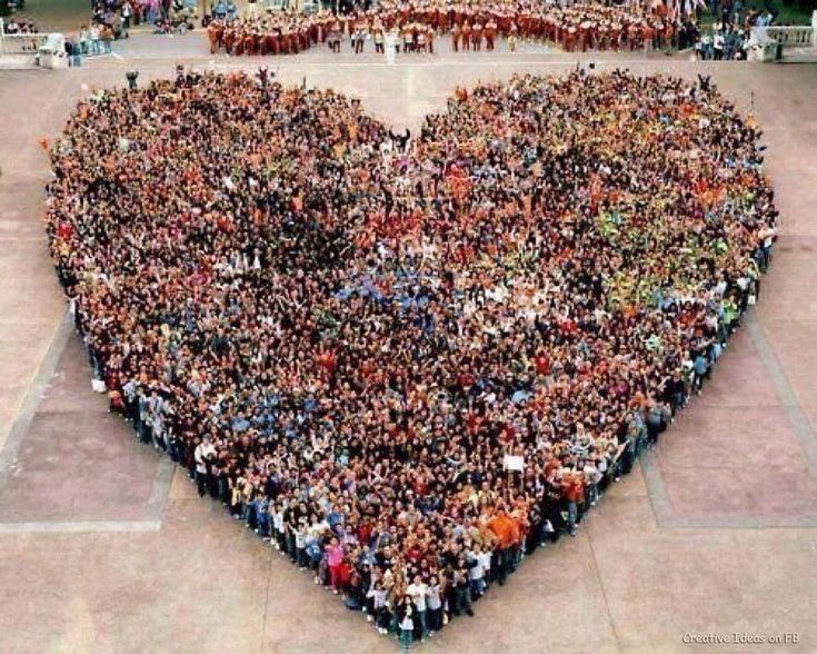 Human Heart. Share your love, without worrying about who receives it. August 10, 2011 by Sandro Flora in Osho , Love