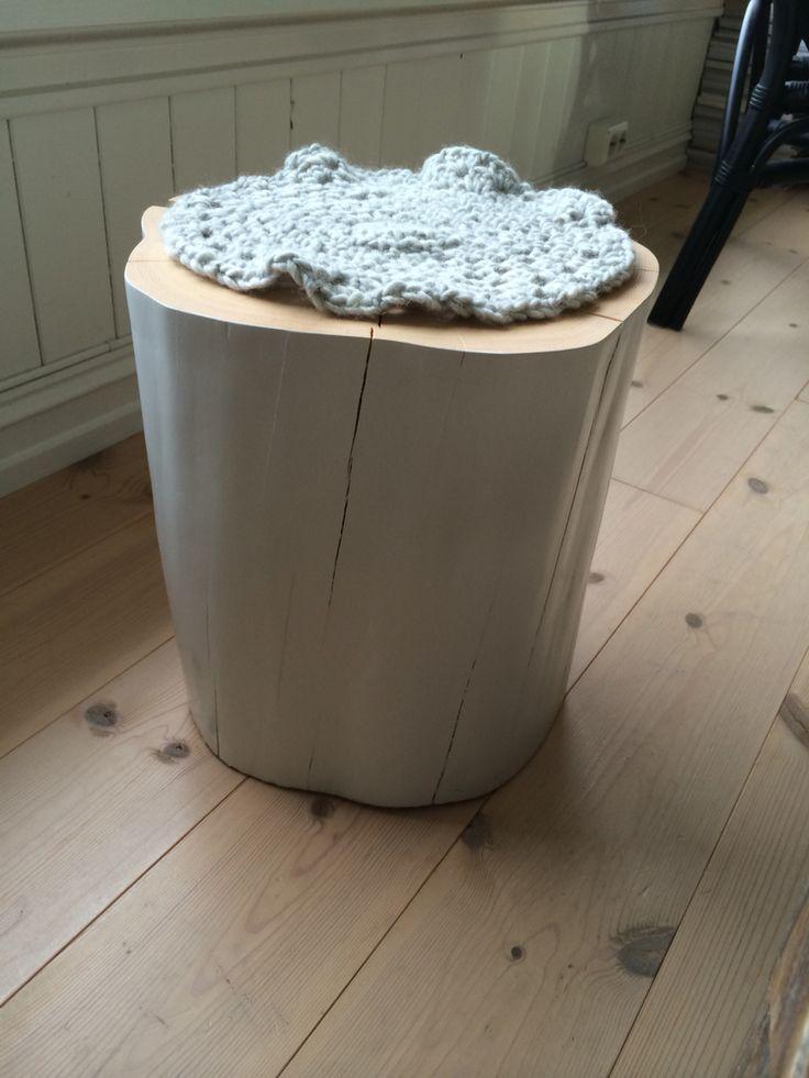 Mini woodstool for a child
