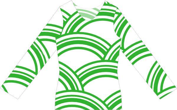 Kostenlose Nähanleitung und Schnittmuster für ein Damen Langarmshirt