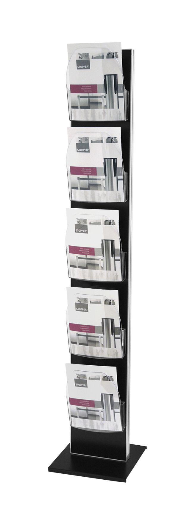 DACAPO IPOINT Brochure & Leaflet Holders - http://magnusongroup.com/products/brochureleafletholder/dacapoipoint.html