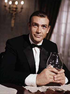 Sean Connery 007 Shaken' Not Stirred... the original and still my personal favorite.