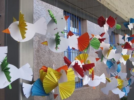 Palomas voladoras para la paz