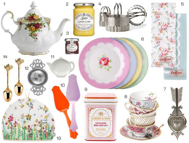 wat heb je allemaal nodig voor een high tea