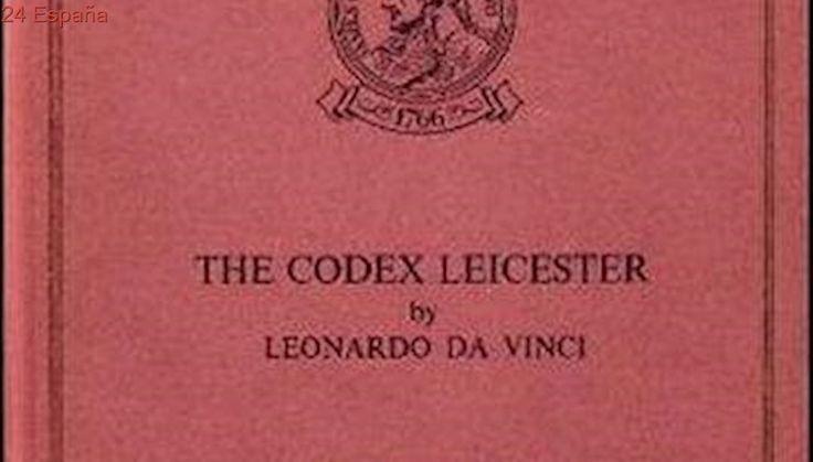 El 'Codex Leicester' de Leonardo Da Vinci vuelve a Italia cedido por Bill Gates