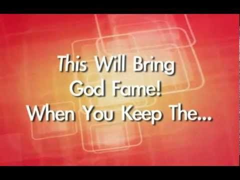 ▶ Ten Commandment Song For Kids - YouTube