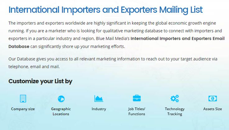 Importers Mail