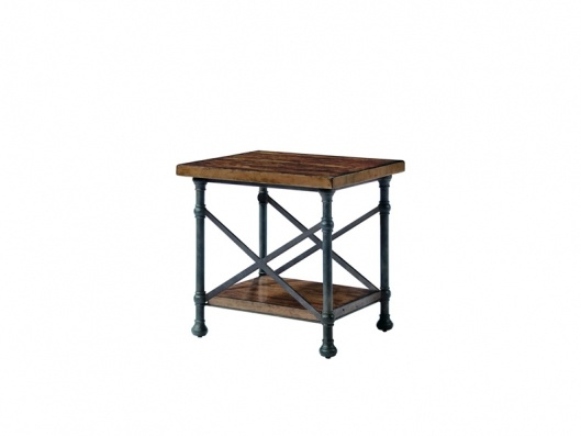 Vintage Patina Collection End Table By Bernhardt