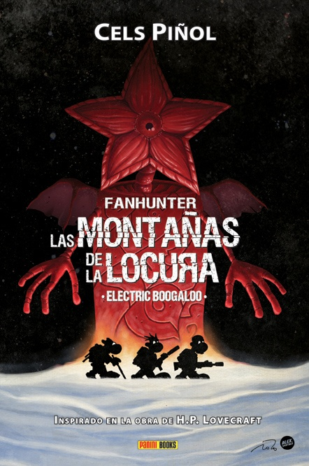 Fanhunter: Las Montañas de la Locura. Electric Boogaloo.    Cover.  (Àlex Santaló + Cels Piñol).