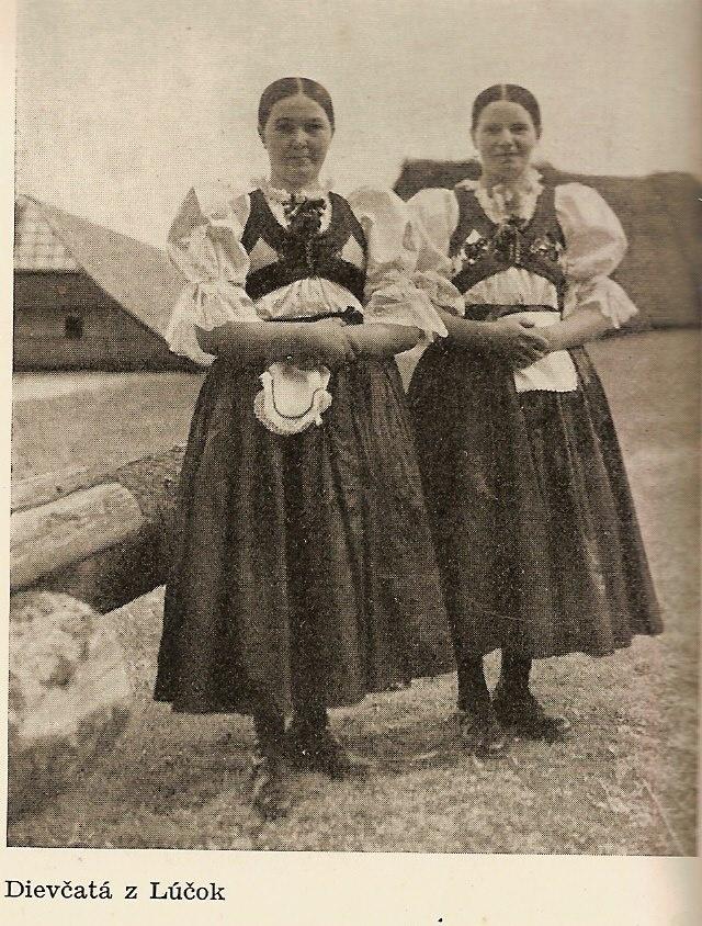 Dievčatá z Lúčok, 30.roky, Kremnica
