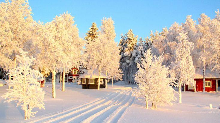 Uitonpuisto Villa in the wilderness of Lapland, Finland