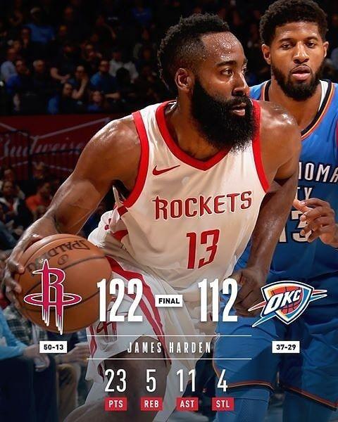Resultados de ayer  #nba #basketball #bball #harden #davis #lillard #curry #dennis #beal #derozan #simmons #pels #rockets #warriors #wizards #raptors #sixers