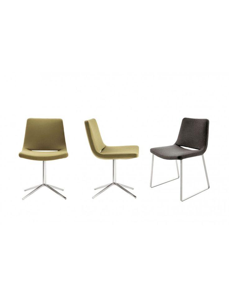 b&b italia metropolitan stoel  Ontwerp: Jeffrey Bernett, 2003  Leverbaar in stof of leder  Ondestel: helder Chroom of geverfd in staal of geborsteld aluminium