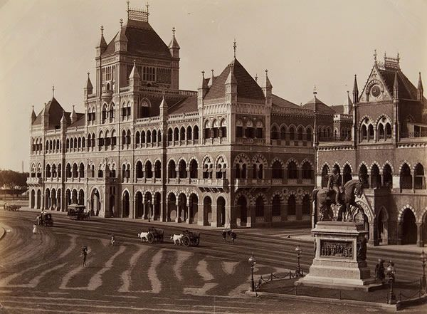 Elphinstone College and Sassoon Library – Late 19th Century - Old And Vintage Photographs Of Mumbai Bombay  Best of Web Shrine