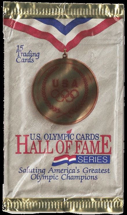 1991 US Olympic Cards Hall of Fame Series trading cards