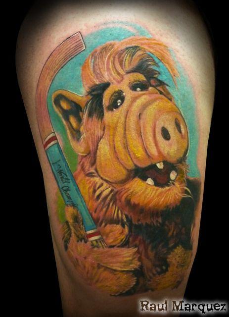 Tatuaje de Raul Marquez - Damage Inkorporated (Barcelona)