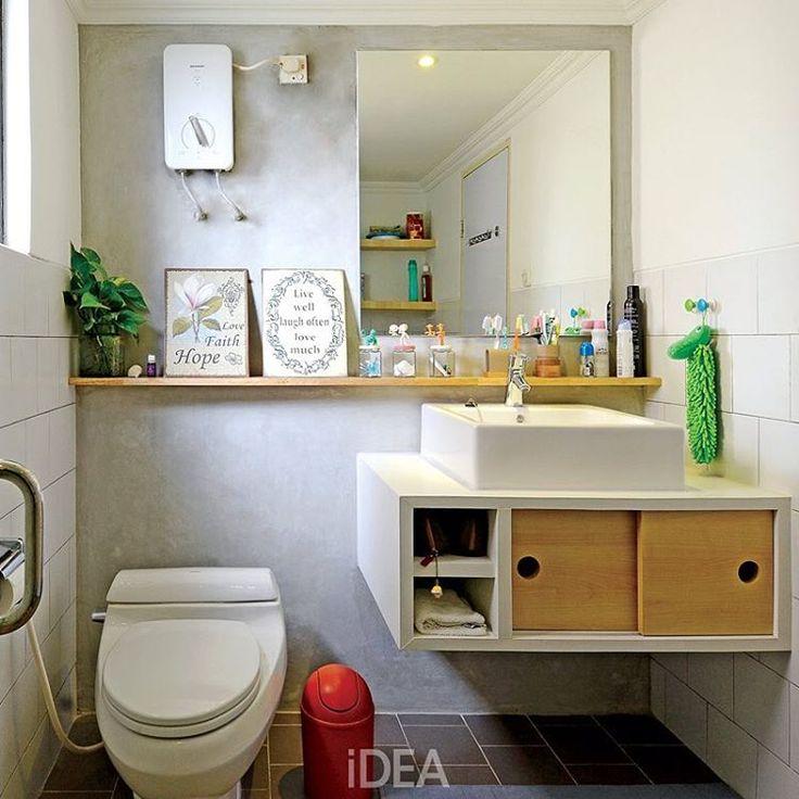25 ide terbaik tentang kamar mandi kecil di pinterest