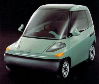 Concept Car of the Week: Fiat Downtown (1993) - Car Design News