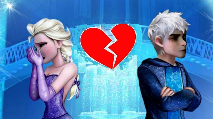 Juegos de Frozen Elsa rompe con su novio Jack Frost dos veces