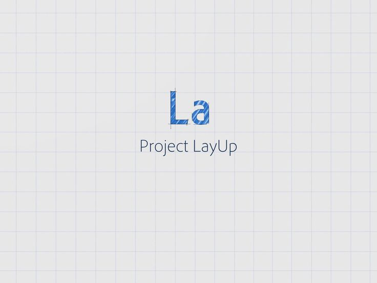 Demo video for Project LayUp—a new app for iPad that I'm working on with Adobe.
