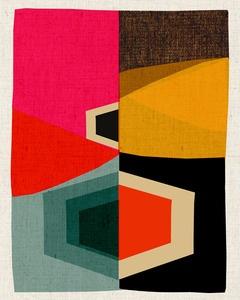 Inaluxe // Atlas 59Wall Art, Prints Pattern, Colors Combos, Vintage Prints, Atlas 59, Art Prints, Habitually Chic, Colors Palettes, Graphics Design