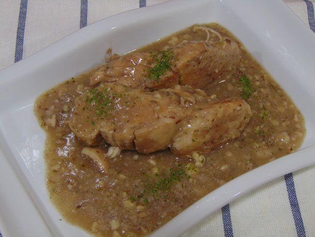 Recetas con encanto: Pollo en salsa (Olla super rápida)