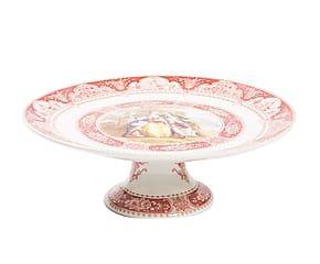 Alzata per dolci in porcellana Bucolica - 27x10x27 cm
