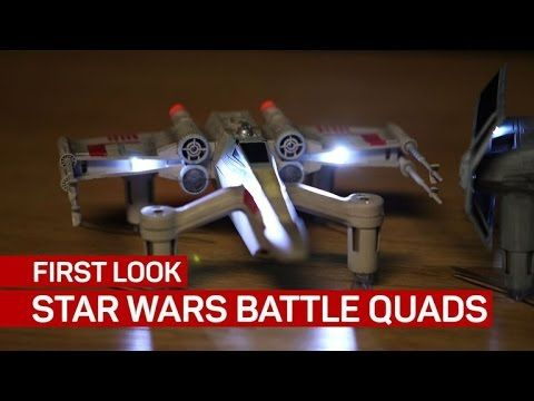 Star Wars Battle Quad drones are too awesome to fly casual - http://eleccafe.com/2016/11/21/star-wars-battle-quad-drones-are-too-awesome-to-fly-casual/
