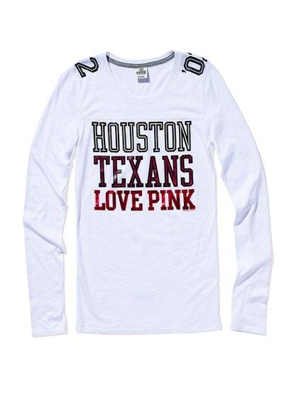 Houston Texans Long-sleeve Football Tee- got this today :D