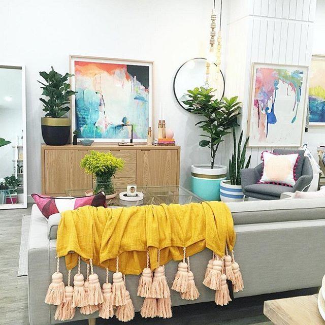 Living room swoon via @mynd_interiors