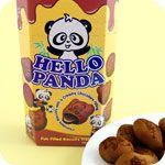 Cute Biscuits - Japanese Hello Panda & Pucca, Glico Collon, Asian Cookies