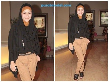 model busana hijab zazkia adya mecca