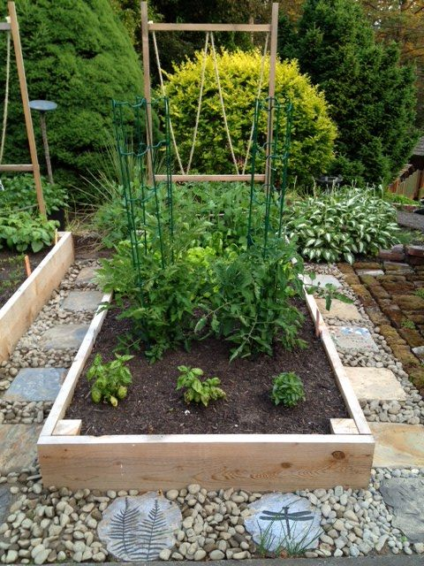 Raised Bed Garden. So beautiful,