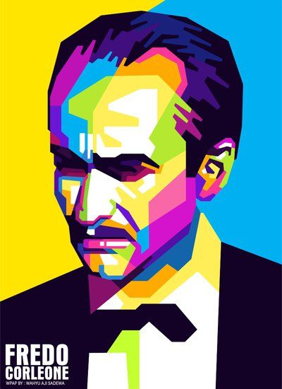 The Godfather - Fredo Corleone pop art #GangsterMovie #GangsterFlick