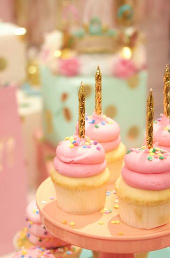 It's not a birthday without cupcakes.