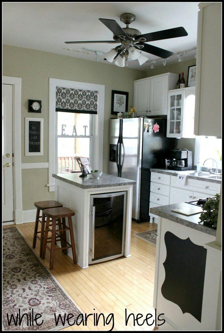 Al al alno kitchen cabinets chicago - While Wearing Heels Kitchen Tour
